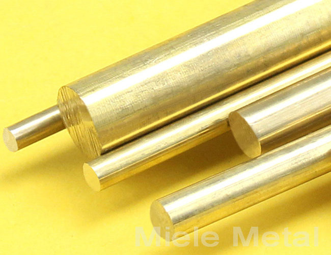 Brass Bars Free cutting in stocked brass rod
