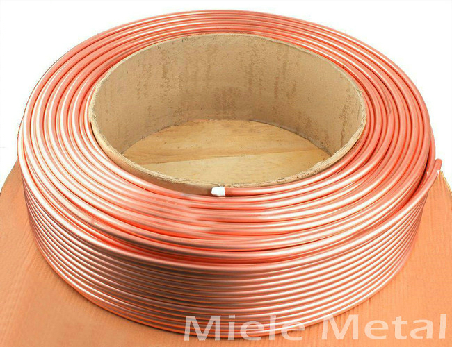 Copper pipe roil For Air Condition