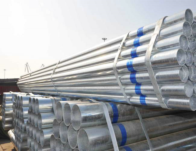 S235JR galvanized steel pipe for sale