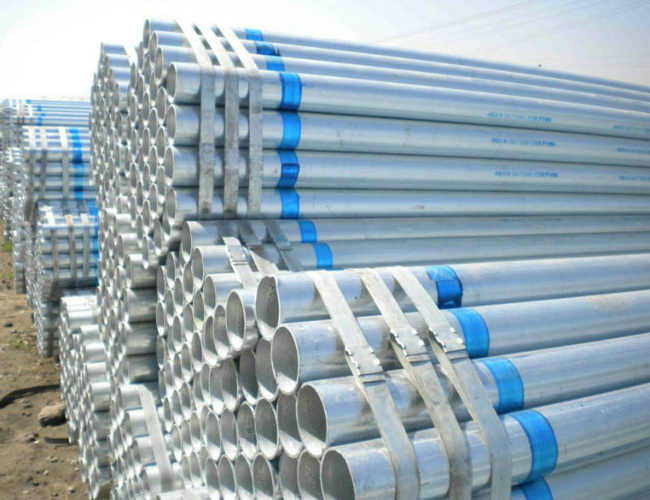 BS1387 galvanized steel pipe price