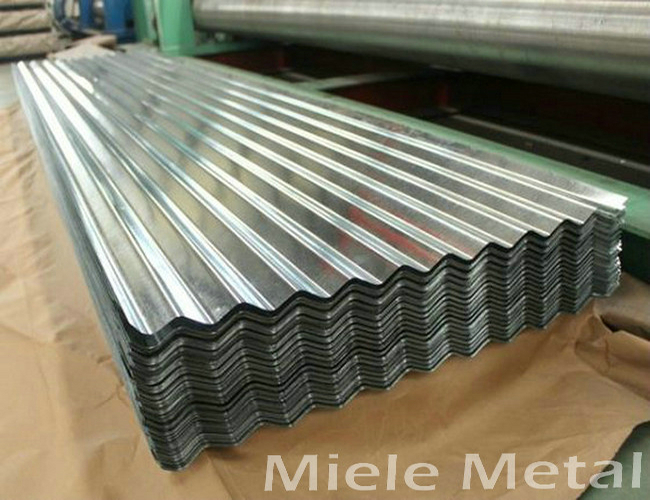 DX51D hot dipped galvanized steel sheet