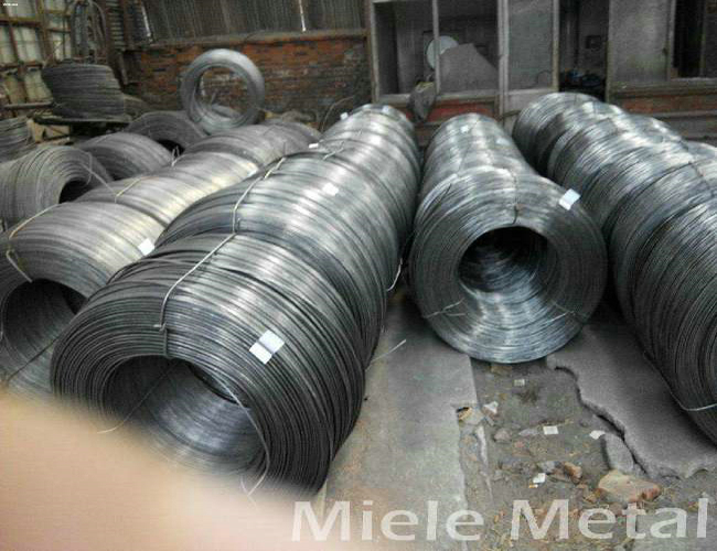 high zinc coated low carbon steel wire